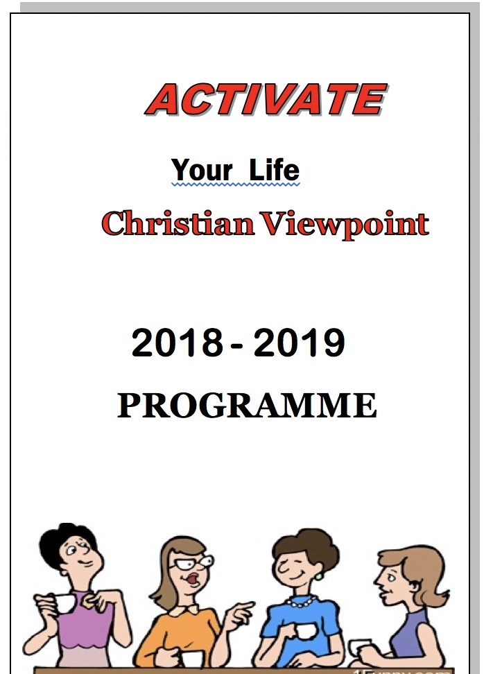 Activate 2018 Front page